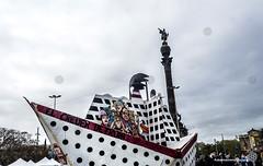 2018_04_07_Stop cruises_ PedroMata  (1) (Fotomovimiento) Tags: fotomovimiento barcelona gentrificación stopcruises catalunya catalonia cataluña cruceros manifestación demostration turismo lasramblas pancarta