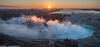 Sunrise over Niagara Falls (Ben_Cooper) Tags: niagarafalls niagara falls waterfall waterfalls canada ontario newyork ny mist sunrise