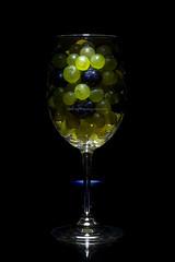 SAG_0147s (dmitry97) Tags: grape black reflection light glass fruit food