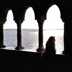 perfect place (poludziber1) Tags: sky sea italia italy portovenere people water window travel matchpointwinner mpt624