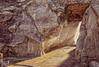 (135/18) La grieta (Pablo Arias) Tags: pabloarias photoshop photomatix capturenxd españa cielo grieta gruta resplandor rayosdesol calagaldana menorca