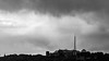 Palace silhouette (PhredKH) Tags: ef50mmf18stm silhouette alexandrapalace northlondon london iconicbuilding allypally tower clouds greyclouds greyscale monochrome monography blackandwhite blackandwhitephotography blackwhitephotography bw photosbyphredkh 50mm canoneos5dmarkiii canonphotography outdoorphotography landscape cityscape