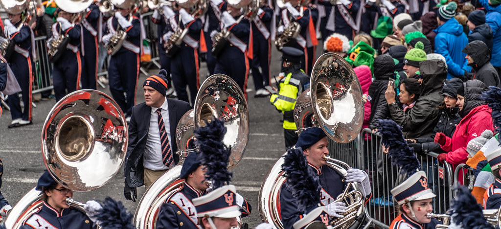 DUBLIN SAINT PATRICKS PARADE 2018 [THE MARCHING ILLINI]-137412