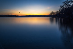 I Go Into the Night, Alone.jpg (elektratig) Tags: sunset newjersey sussexcounty stillwater lakeswartswood swartswood