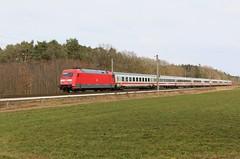 DB 101 039-6 met trein 146 als Intercity van Berlin Ostbahnhof naar Amsterdam Centraal te Rheine (daniel_de_vries01) Tags: 039 6 db 101 0396 met trein 146 als intercity van berlin ostbahnhof naar amsterdam centraal te rheine