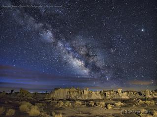 Milky Way at the Valley of Dreams 3