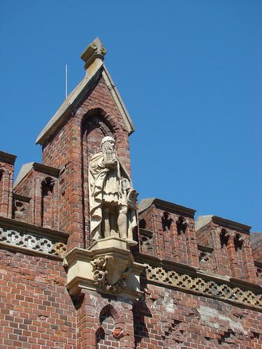 Скульптура на Фридландских воротах ©  ayampolsky