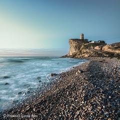 La torre vigía. / The Watchtower. (Recesvintus) Tags: villajoyosa alicante spain españa landscape seascape recesvintus