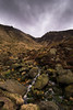 The View up Grindsbrook Clough (Tom_Codd) Tags: edale kinderscout peakdistrict grindsbrook clough stream water cloud march green highpeaks xe2 fuji england nationalpark samyang rain moor