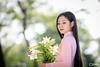 áo dài (SuBinZ) Tags: portrait dress girl gái young lady vietnam vietnamese flickr flickrcom beauty nikon d850 105mm tree park grass road 85mm rain bokeh light long hair áodài