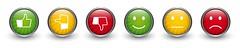 6x_feedback_strahlen (cfdtfep) Tags: bewertung kritik lob feedback buttons umfrage kundenzufriedenheit button zufrieden zufriedenheit befragung service business einkauf onlineshop bewerten abstimmung wahl online qualitt servicequalitt smily daumen unzufrieden positiv negativ neutral gut schlecht ampel rot gelb grn urteil produktbewertung motivation emotionen emotion emiticon vektor germany