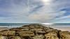 ESPIGÓN (bacasr) Tags: mar beach clouds andalucía nubes coast espigón costa breakwater playa elpuertodesantamaría cádiz españa sea