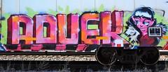 ADVEK (rabidscottsman) Tags: scotthendersonphotography boxcar minnesota railroad mn northfieldminnesota saturday weekend graffiti railroadgraffiti face refrigeratedboxcar ricecountyminnesota nikon nikond7100 d7100 tamron tamron18270 18270 advek