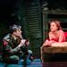 Tom Kay (Stephen Wraysford) & Madeleine Knight (Isabelle Azaire) in BIRDSONG. Credit Jack Ladenburg