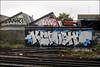 Anik / Take / KCrush (Alex Ellison) Tags: southlondon anik smc tbf take ac dds kc kcrush trackside railway urban graffiti graff boobs