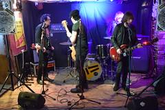 DSC_0031 (richardclarkephotos) Tags: tim bish joey luca © richard clarke photos derellas three horseshoes bradford avon wiltshire uk lone sharks guitar bass drums guitarist drummer bassist band bands live music punk