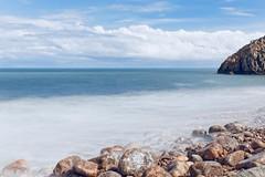 CH3A0068 (Ludo_M) Tags: france sea seascape blue clouds mer longexposure landscape dslr ff 5d canon