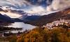 Barrea e lago (SDB79) Tags: barrea lago parconazionaleabruzzo pnalm panorama cielo paese natura paesaggio abruzzo
