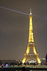 The Eiffel Tower - City Lights tour - Paris - Dec 2017