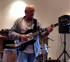 More Slide Guitar on the SG thru the Mesa Boogie (David Neely) Tags: guitars guitarists gibson