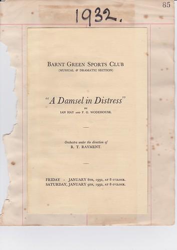 1932: Jan Programme 1