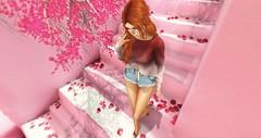 a blossom fell (Cosette Mackenzie) Tags: secondlife secondlifephotography secondlifemoment foxcity atomic spirit navycopper blush n21 catwa maitreya kibitz