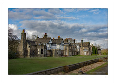 Smithills Hall, Bolton, Lancashire (prendergasttony) Tags: manor hall smithills bolton lancashire history nikon d7200 clouds sky historical old tonyprendergast architecture