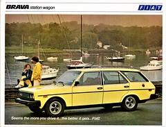 1979 Fiat Brava Station Wagon (aldenjewell) Tags: 1979 fiat brava station wagon brochure