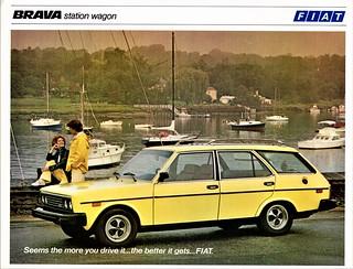 1979 Fiat Brava Station Wagon