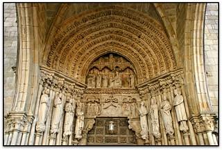 La portada, Catedral de Sta. María, Tui (Pontevedra, España)