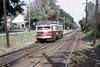 US PA Philadelphia SEPTA-PSTC Red Arrow 19 St Louis Streamliner 9-28-1973 (David Pirmann) Tags: pa pennsylvania philadelphia septa redarrow pstc philadelphiasuburbantransco stlouisstreamliner stlouiscarco streamliner train trolley tram transit railroad