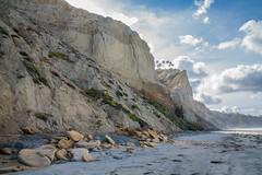 Sun Rising over the Cliffs at Blacks Beach (The_Speedy_Butterfly) Tags: beach ocean sand cliffs sandiego california pacificcoast