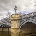 York: Skeldergate Bridge with bus. thumbnail
