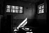personal mess (Alexandre Dulaunoy) Tags: personalmess urbex belgium belgique belgitude bw blackwhite old oldbuilding abandoned abandonedplace noiretblanc noirblanc monochrome light nb