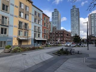Bell Street Park Slow Street in Seattle