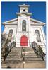 Clinton United Methodist church.....  lighting up!!!! (Xacobeo4) Tags: church clinton methodist