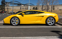 Profile (Hunter J. G. Frim Photography) Tags: supercar colorado lamborghini gallardo lp5604 giallo yellow v10 awd coupe lamborghinigallardo