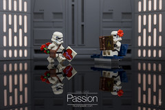 Passion (Ballou34) Tags: 2017 7dmark2 7dmarkii 7d2 7dii afol ballou34 canon canon7dmarkii canon7dii eos eos7dmarkii eos7d2 eos7dii flickr lego legographer legography minifigures photography stuckinplastic toy toyphotography toys 2018 7d mark 2 ii eos7d stuck plastic puteaux îledefrance france fr in sipgoes52 starwars star wars sw stormtrooper stormtroopers passion love story book bench flowers chocolate
