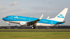 Boeing 737-7K2(WL) PH-BGG KLM Royal Dutch Airlines (William Musculus) Tags: amsterdam schiphol eham ams spotting airport polderbaan phbgg klm royal dutch airlines boeing 7377k2wl 737700 william musculus