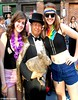 Dr. Takeshi Yamada and Seara (Coney Island sea rabbit). Brooklyn, New York.     20160626Sun Gay Pride Parade. DSCN7083=p2030C2 (searabbit29) Tags: takeshiyamada fineartexhibitions museumcollections famous japanese japaneseamerican artist osaka tokyo japan tv painting sculpture photography graphicdesign sideshow freakshow banner gaff performance fashiondesign fashion tophat jabot jewelrydesign victorian gothic goth steampunk dieselpunk fashiondesigner playboy bikini roguetaxidermist roguetaxidermy taxidermist taxidermy specialeffect cabinetofcuriosities dimemuseum seara searabbit coneyisland mythiccreature cryptozoology cryptid brooklyn newyorkcity nyc newyork
