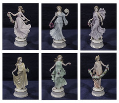 """Wedgwood The Dancing Hours Floral Collection (newpeter) Tags: antique collectables vase silver gold ceramics enamel cinnabar clock clocks watch watches jade ivory glass worcester terracotta bronze buddha """"parian ware"""" """"arts crafts"""" paintings oriental japanese chinese"""