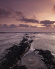 Spiral Architect (johnkaysleftleg) Tags: hauxley beach rocks tide sunrise morning morninglight northumberland northumberlandcoast northeast england canon760d sigma1020mmf456exdchsm ndhardgrad06 5stopfilter nd15