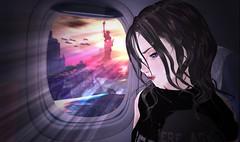 Saved?.. (℟es† ίn ℘eѦceى) Tags: secondlife sl anime apocalypse disaster flood plane window survavor