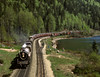 Three Valley BC Sunday May 7th 1978 1355PDT (Hoopy2342) Tags: train rail railroad railway royalhudson steam locomotive steamlocomotive bc britishcolumbia threevalleygap canadianpacific canadianpacificrailway monasheemountains monashee