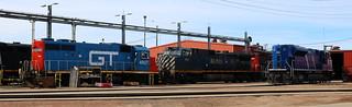 GTW 4927, BCOL 4651, CITX 140, Illinois, Stevens Point, 25 Mar 18
