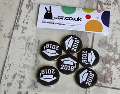 Graduate School Leaver Badges (koolbadges) Tags: math maths school teach class graduate leaver fun 2018 pupil learn lesson uni collage koolbadges buttons handmade