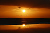 sunset reflection (nelesch14) Tags: nature summer sun light reflection water pool sky ocean sea caribbean sunset mirror