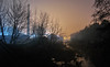 31.03.2018 (Kosmi88) Tags: nikon d60 głowno polska mgła mist fog noc noche night smog poland landscepe