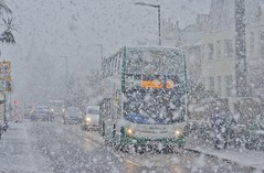 Let It Snow (Better Living Through Chemistry37) Tags: route22 buses busessouthwest busesuk transport transportation vehicles vehicle psv publictransport stagecoach stagecoachdevon stagecoachsouthwest 15862 wa62amk scania scanian230ud enviro400 hop22 busesinthesnow snow beastfromtheeast2 dartmouthroad paignton