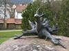"Elwetritsch Denkmal Dahn - Pfälzer Wald (Palatinate Forest) (barbmz) Tags: ""pfälzer wald"" ""palatinate forest"" biospherereserve elwetritsch troll dahn denkmal monument"